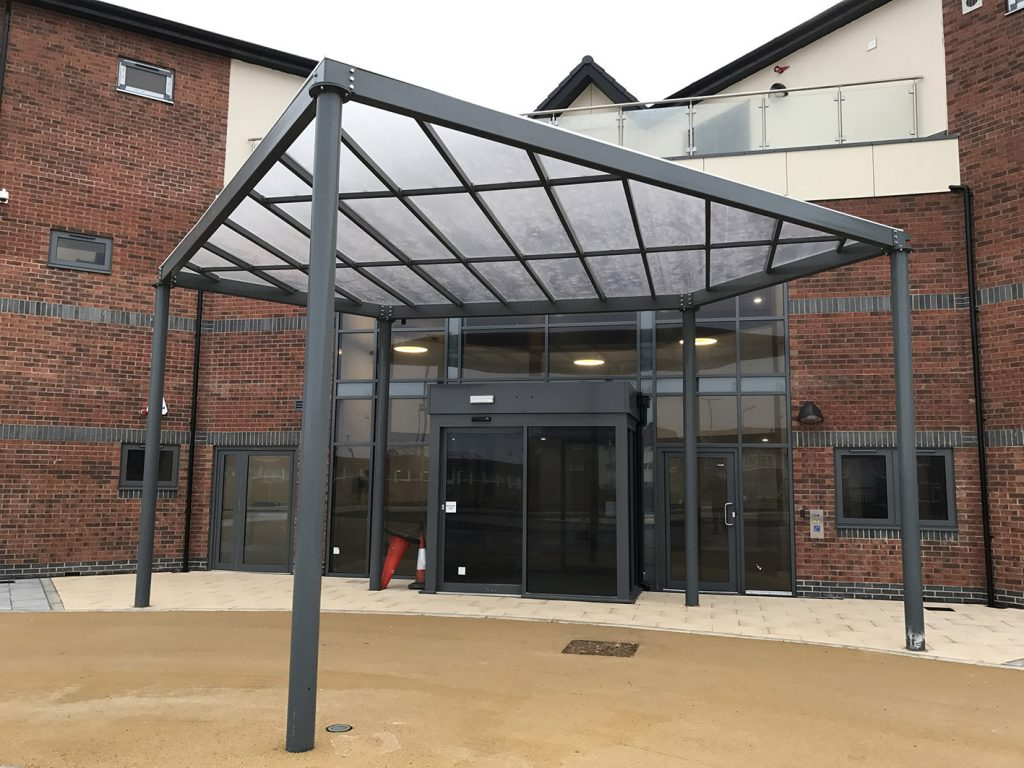 Bespoke Entrance Canopies