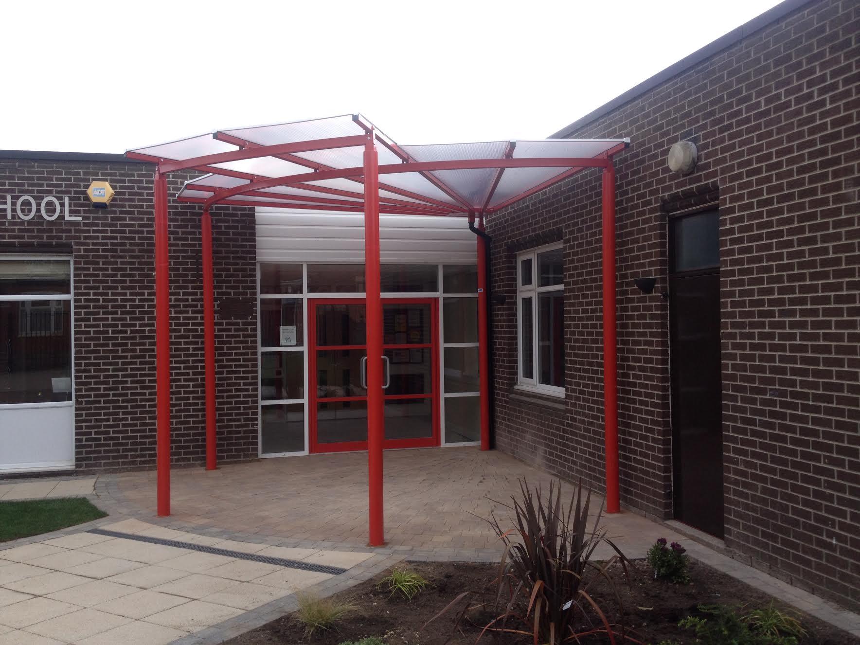 School Entrance Canopy