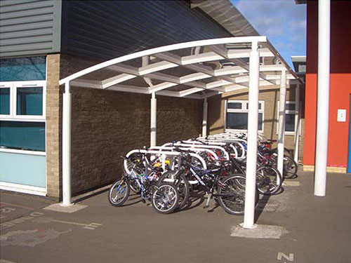 image showing berwick cycle shelter