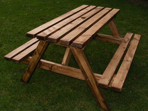 Economy Timber Picnic Table