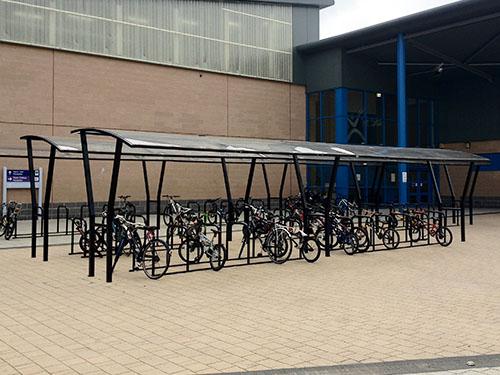 image of felton cycle shelter