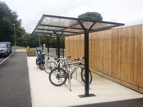 gosforth cycle shelter