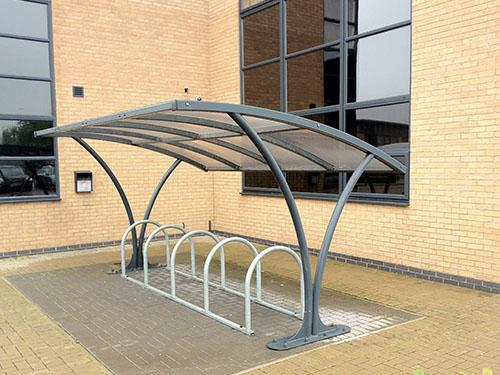 featured image of hebburn cycle shelter