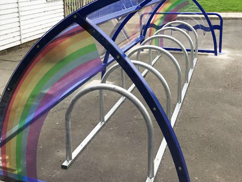 image of junior sheffield cycle rack