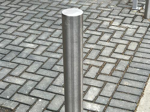Stainless Steel Bollard – Flat Top