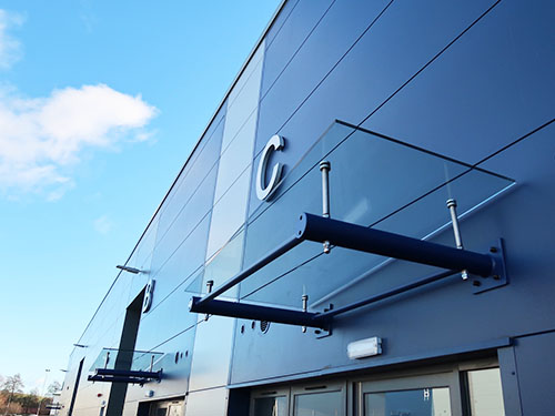 Image of Wall Mounted Entrance Canopy