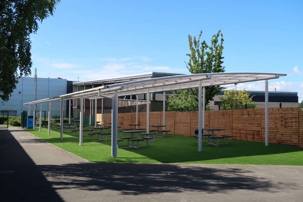 Dining and Teaching Canopies
