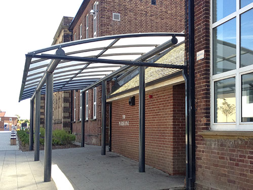entrance canopies